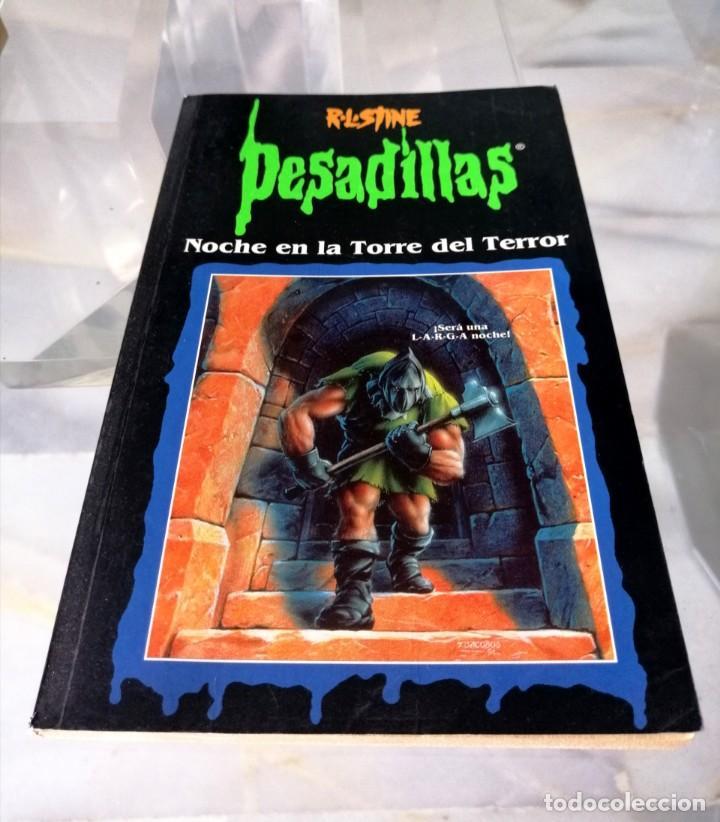 Libros: LOTE DE 7 PESADILLAS (R. L. STINE) EDICIONES PRIMERA PLANA 1998 - Foto 6 - 285498088