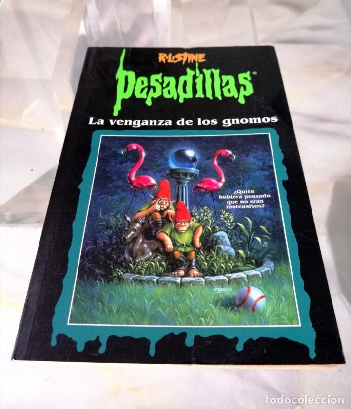Libros: LOTE DE 7 PESADILLAS (R. L. STINE) EDICIONES PRIMERA PLANA 1998 - Foto 7 - 285498088