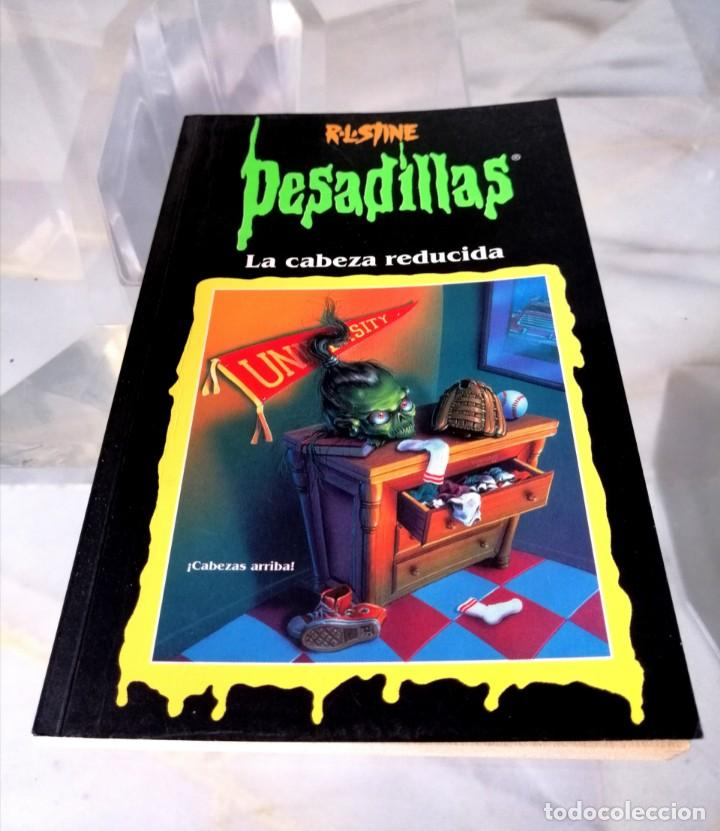 Libros: LOTE DE 7 PESADILLAS (R. L. STINE) EDICIONES PRIMERA PLANA 1998 - Foto 8 - 285498088