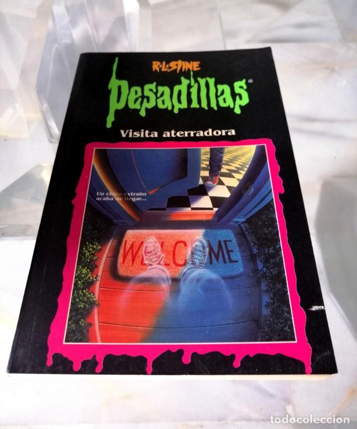 Libros: LOTE DE 7 PESADILLAS (R. L. STINE) EDICIONES PRIMERA PLANA 1998 - Foto 9 - 285498088