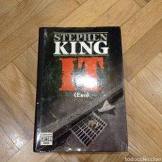 Libros: IT. STEPHEN KING. PRIMERA EDICIÓN. PLAZA&JANES.. Lote 285816203