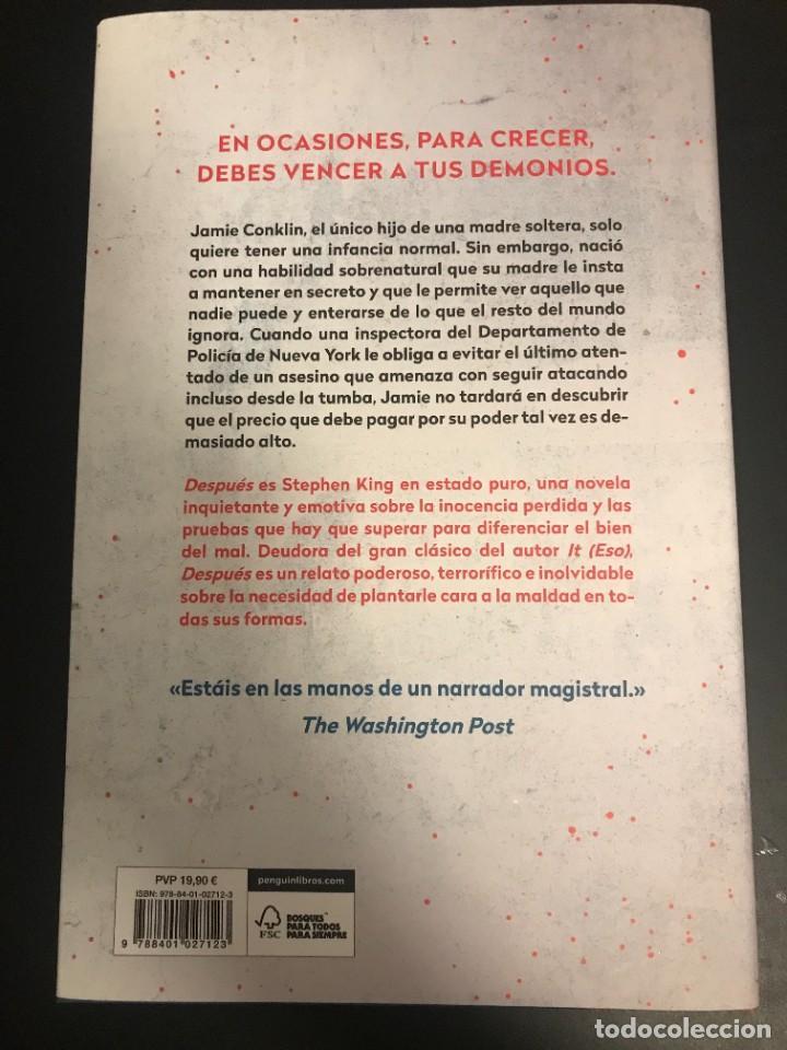 Libros: STEPHEN KING DESPUÉS ¡NUEVO! PLAZA JANÉS 2021 - Foto 2 - 288723913