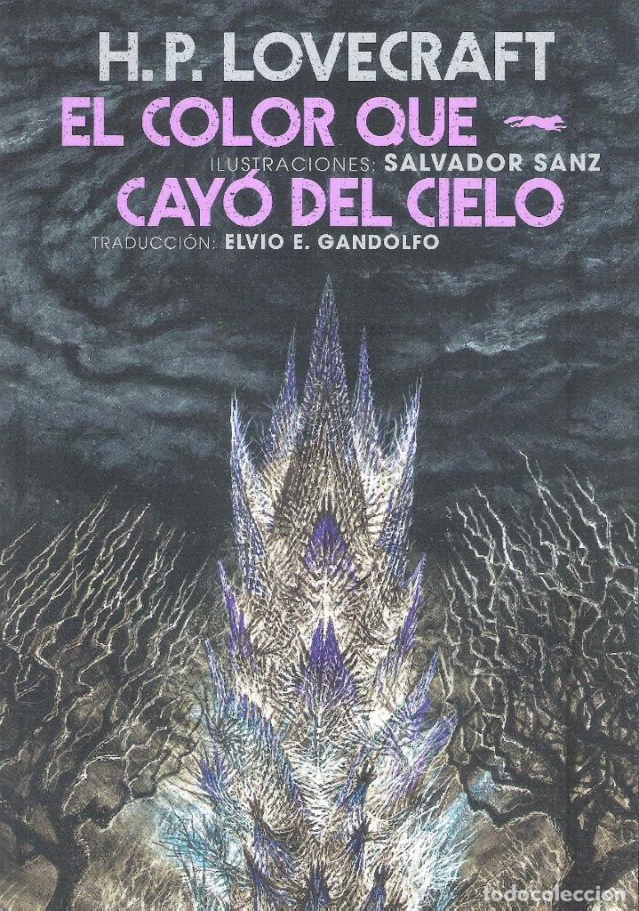 EL COLOR QUE CAYO DEL CIELO (Libros Nuevos - Literatura - Narrativa - Terror)