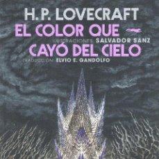 Libros: EL COLOR QUE CAYO DEL CIELO. Lote 288886068