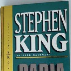 Libros: RABIA STEPHEN KING NUEVO SIN ABRIR. Lote 293536748