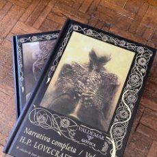 Libros: NARRATIVA COMPLETA LOVECRAFT 2 VOL. - VALDEMAR (2005) ENVÍO GRATIS. Lote 293678593
