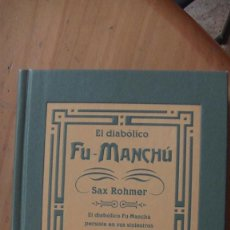 Libros: EL DIABÓLICO FU-MANCHÚ. ROHMER, SAX. EDICIONES B, BARCELONA, 2001. Lote 293889238