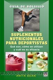 ALIMENTACIÓN DEPORTIVA. GUÍA DE BOLSILLO. SUPLEMENTOS NUTRICIONALES PARA DEPORTISTAS - ANITA BEAN (Libros Nuevos - Ciencias, Manuales y Oficios - Medicina, Farmacia y Salud)