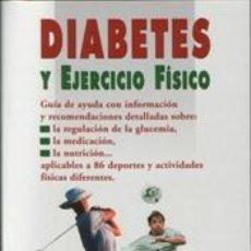 Libros: CIENCIA. MEDICINA DEPORTIVA. DIABETES Y EJERCICIO FÍSICO - SHERI COLBERG. Lote 42697658