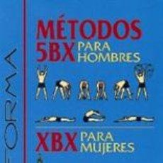 Libros: FITNESS. EN FORMA. MÉTODOS 5BX PARA HOMBRES Y XBX PARA MUJERES - REAL FUERZA AÉREA CANADIENSE. Lote 42692849