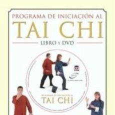 Libros: QIGONG. PROGRAMA DE INICIACIÓN AL TAI CHI - GRAHAM BRYANT LIBRO Y DVD. Lote 42693018