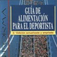 Libros: ALIMENTACIÓN DEPORTIVA. GUIA DE ALIMENTACIÓN PARA EL DEPORTISTA - ALBERTO MUÑOZ SOLER/FRANCISCO JAVI. Lote 43161557