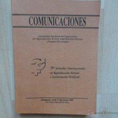 Libros: REPRODUCCION ANIMAL, INSEMINACION ARTIFICIAL Y NUEVAS TECNOLOGIAS - QUINTAS JORNADAS INTERNACIONALES. Lote 50790658