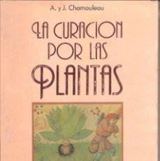 Libros: LIBRO - LA CURACIÓN POR LAS PLANTAS - EDICIÓN 1989. Lote 69004277
