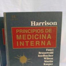 Libros: HARRISON PRINCIPIOS DE LA MEDICINA INTER. Lote 75513867
