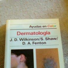 Libros: LIBRO DERMATOLOGIA. Lote 85185102