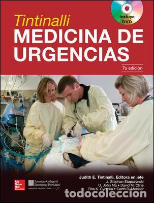 TINTINALLI MEDICINA DE URGENCIAS. 2 VOLUMENES - TINTINALLI/STAPCZYNSKI/MA/CLINE/CYDULKA/ME (CARTONÉ) (Libros Nuevos - Ciencias, Manuales y Oficios - Medicina, Farmacia y Salud)