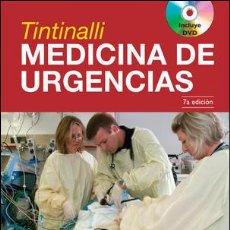 Libros: TINTINALLI MEDICINA DE URGENCIAS. 2 VOLUMENES - TINTINALLI/STAPCZYNSKI/MA/CLINE/CYDULKA/ME (CARTONÉ). Lote 90155520