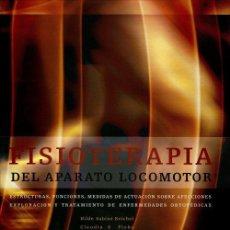 Libros: FISIOTERAPIA DEL APARATO LOCOMOTOR - HILDE-SABINE REICHEL/CLAUDIA E. PLOKE (CARTONÉ). Lote 90223892