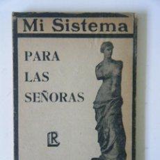 Libros: J.P. MÜLLER. MI SISTEMA PARA LAS SEÑORAS.. Lote 95055159