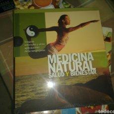 Libros: MEDICINA NATURAL SALUD Y BIENESTAR LIBRO NUEVO TERAPIAS ORIENTALES. Lote 98217863