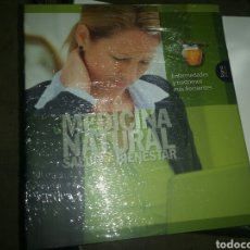 Libros: MEDICINA NATURAL SALUD Y BIENESTAR LIBRO NUEVO ENFERMEDADES Y TRASTORNOS. Lote 98218198