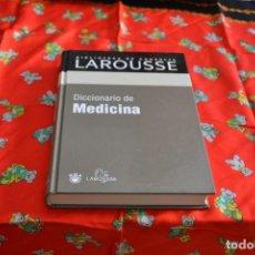 Libros: BIBLIOTECA DE CONSULTA LAROUSSE. DICCIONARIO DE MEDICINA. Lote 103837115
