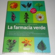 Libros: LA FARMACIA VERDE POR EL DR. JORG GRUNWALD/ CHRISTOF JANICKE. Lote 105725039