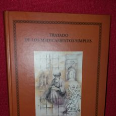 Libros: TRATADO DE LOS MEDICAMENTOS SIMPLES ABU-S-SALT UMAYYA 1068-1134. Lote 108718936