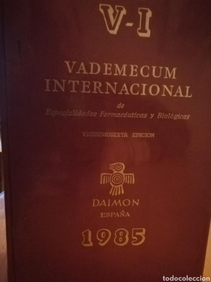 VADEMECUM INTERNACIONAL.V-L 1985 (Libros Nuevos - Ciencias, Manuales y Oficios - Medicina, Farmacia y Salud)