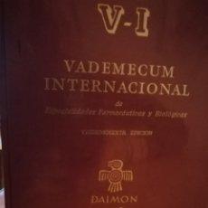 Libros: VADEMECUM INTERNACIONAL.V-L 1985. Lote 112380676