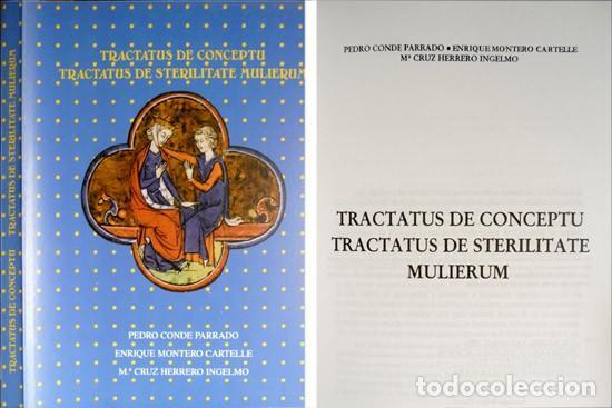 TRACTATUS DE CONCEPTU [ET] TRACTATUS DE STERILITATE MULIERUM. ED. DE LOS ORIGINALES LATINOS... 1999. (Libros Nuevos - Ciencias, Manuales y Oficios - Medicina, Farmacia y Salud)