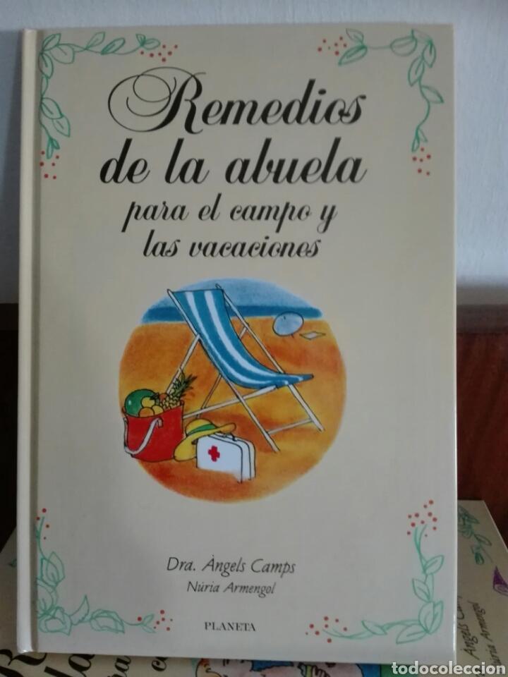 Libros: REMEDIOS DE LA ABUELA. EDITORIAL PLANETA. - Foto 3 - 112885291