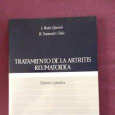 Libros: TRATAMIENTO DE LA ARTRITIS REUMATOIDEA. Lote 115343627
