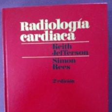 Libros: RADIOLOGÍA CARDIACA. Lote 115343759