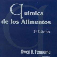 Libros: QUÍMICA DE LOS ALIMENTOS (2ª EDICIÓN). Lote 117617663