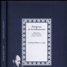 Libros: RAMÓN Y CAJAL, SANTIAGO. PATOGENIA DE LA INFLAMACIÓN. DISCURSO DE DOCTORADO. EDICIÓN FACSÍMIL. 2007.. Lote 119848663