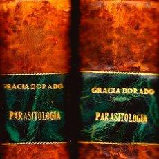 Libros: PARASITOLOGÍA CON NOCIONES DE ZOOLOGÍA GENERAL Y APLICADA (2 VOL). FELIPE GRACIA DORADO. 1ª EDICIÓN. Lote 124825819