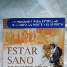 Libros: ESTAR SANO DESPUÉS DE LOS 40. JED DIAMOND.. Lote 125445576