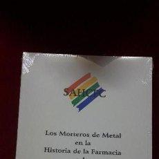 Libros: LOS MORTEROS DE METAL EN LA HISTORIA DE LA FARMACIA Y LA CIENCIA MODERNA. Lote 129581687