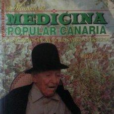 Libros: MEDICINA POPULAR CANARIA - JOSÉ JAÉN. Lote 133671894