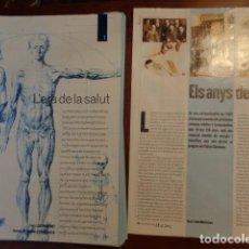 Libros: L'ERA DE LA SALUD - COL·LECCIONABLE COMPLET SENSE ENQUADERNAR 2002 - MEDICINA I FARMÀCIA. Lote 133963066