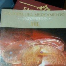 Libros: HISTORIA DEL MEDICAMENTO LLL. Lote 134900534