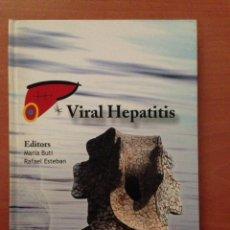 Libros: VIRAL HEPATITIS. Lote 135066707