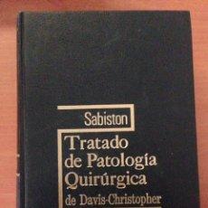 Libros: TRATADO DE PATOLOGÍA QUIRÚRGICA. Lote 135070165