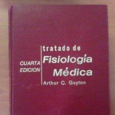 Libros: FISIOLOGÍA MÉDICA 4TA EDICIÓN. Lote 135070714