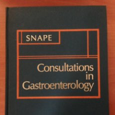 Libros: CONSULTATIONS IN GASTROINTESTINAL. Lote 135070801