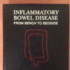 Libros: INFLAMMATORY BOWEL DISEASE. Lote 135071189