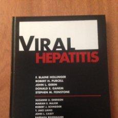 Libros: VIRAL HEPATITIS. Lote 135071410