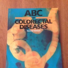 Libros: COLORECTAL DISEASES. Lote 135071434